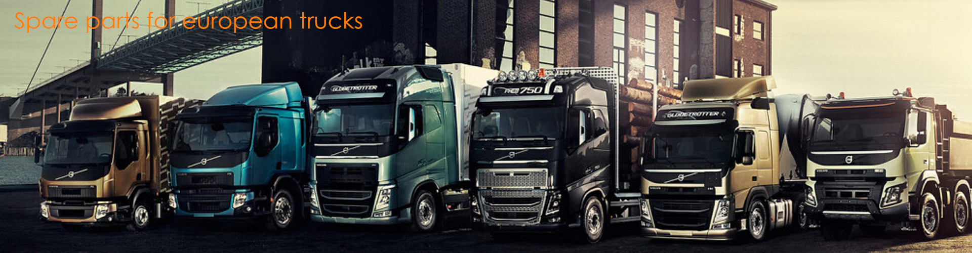 Truck parts supplier and manufactory